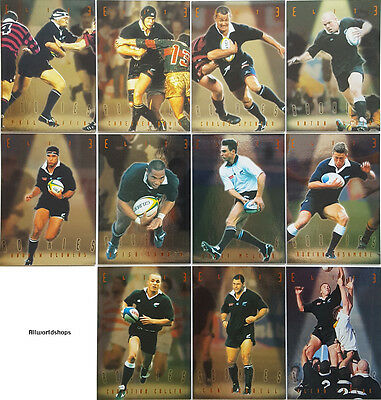 1997 New Zealand All Black Rugby Elite Rookies Cards (11)