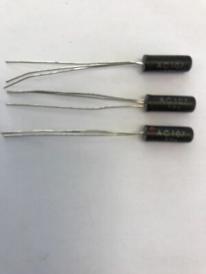 Ac107 Mullard Germanium Transistor New Black Glass