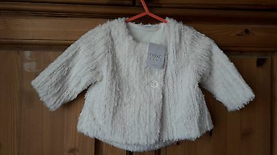 * BNWT NEXT baby jacket/jumper. 0-3 months *