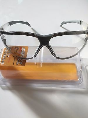 New Safety Glasses Anti Fog clear lens for eye protection UV treated soft nose