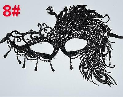 Hot New Lace Eye Mask Halloween Party Fancy Dress Venetian Masquerade Ball Black