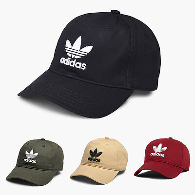 Adidas Originals Trefoil Hat Cap Dad Adjustable Strapback Brand New