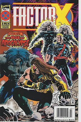 FACTOR X #1 Age of Apocalypse [1995 Marvel] VF/NM or Better