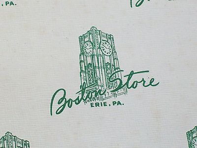 Vintage Boston Store Department Store Empty Box - Erie PA, ERIE HISTORY, OLD BOX
