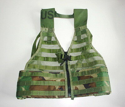 US ARMY original issue FLC LBV MOLE vest WOODLAND  NEW COMPLETE
