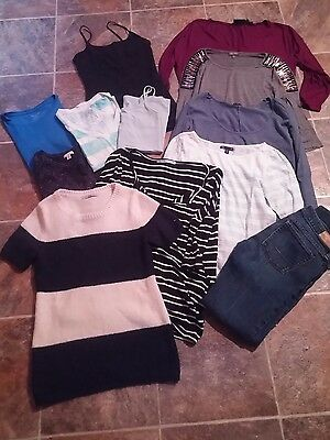 Juniors clothing lot size xs, skinny jeans size 0, maurices and gap clothes lot