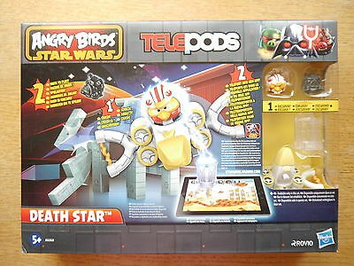 "Star Wars Angry Birds Telepods ""Death Star"" Spielset Game set, Hasbro boxed"