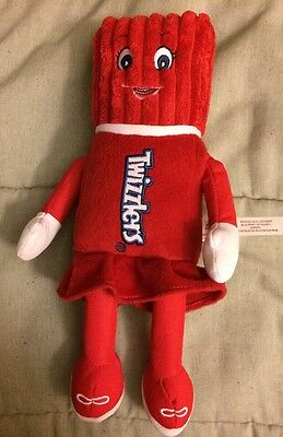 Twizzlers Plush Doll Candy Red Dress Blue Eyes 11""