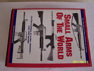 SMALL ARMS OF THE WORLD 12th Edition by Edward Clinton Ezell book guns