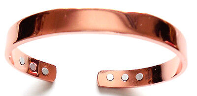 Healing Copper Magnetic Therapy Bracelet Bangle pain arthritis