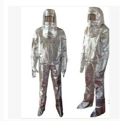 Fireproof Clothes 500 Degree Heat Resistant Aluminized Suit Thermal Radiation M