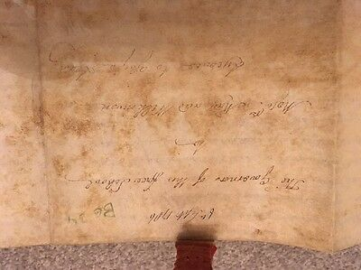 Indenture With Wax Seal, 1786