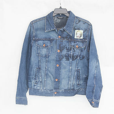 Men's Marilyn Monroe Jean jacket Warhol Factory X Levi's Made in USA