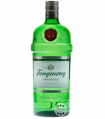 Tanqueray London Dry Gin Imported / 47,3 % Vol. / 1,0 Liter-Flasche