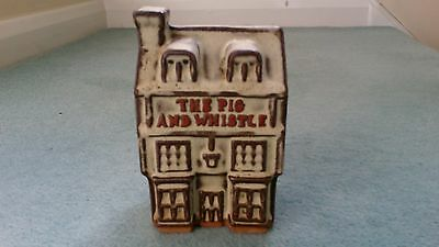 The Pig & Whistle pottery money box by Tremar Pottery