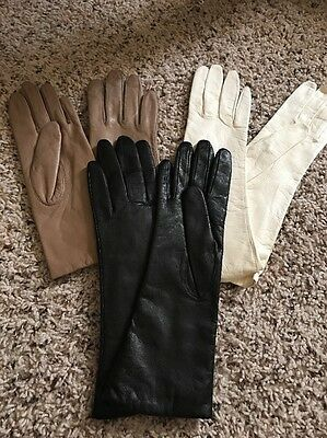 Lot Of Three Women's Gloves, Small, Never Worn