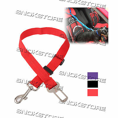 Cintura Di Sicurezza Per Cani Adjustable Car Cat Dog Safety Belt Guinzaglio Auto