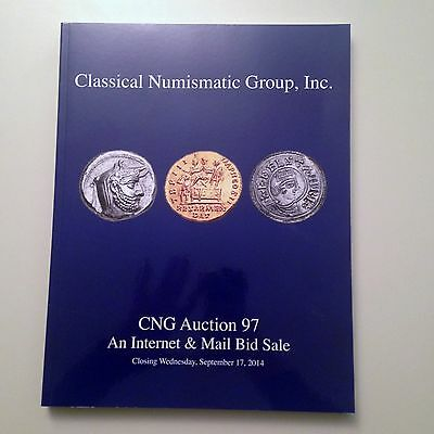 CNG Printed Auction 97 Ancient Greek / Roman Coin Catalog