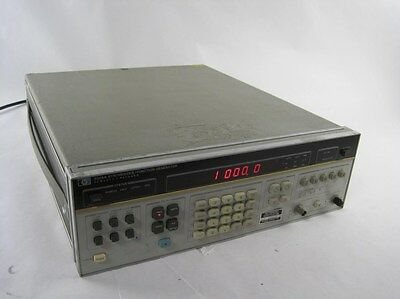 Agilent HP Hewlett-Packard 3325A Synthesizer Function Generator 21 MHz Sweeper