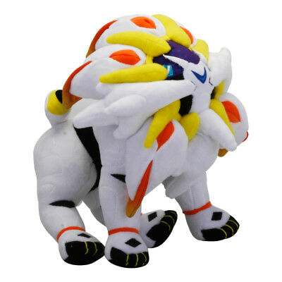 New Anime Pokemon Sun and Moon Solgaleo Soft Plush Doll Stuffed Toy Collection
