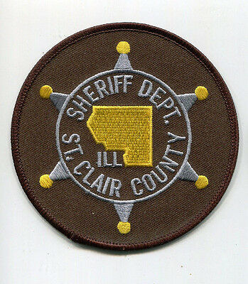 St. Clair County Illinois Sheriff Dept. Patch