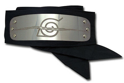 **License** Naruto Shippuden Anti-Leaf Village Logo Ninja Headband #7857