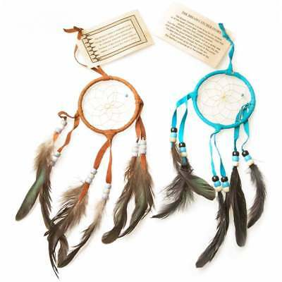 "Native American Indian Native American Navajo Dream Catcher 3"" (Turquoise)"