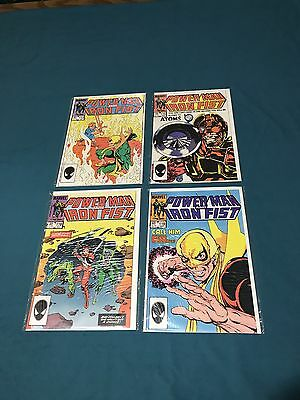 Marvel Comics Power Man & Iron Fist Lot Of 4 #113-119