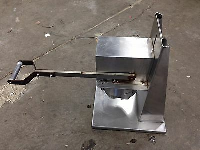 Edlund 700SS Heavy-Duty Manual Crown Punch Can Opener with 603 (#10) Tooling