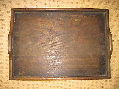 Lovely old wooden serving tray