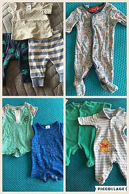 Newborn Baby Clothes 0000 (8 Items)