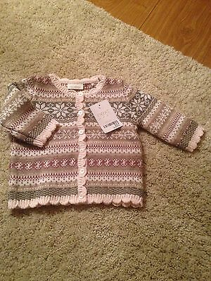 Next Cardigan 3-6 Months New With Tags