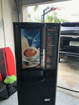 Brio 250 Coffee Vending Machine Coin dispenser and Bill changer included