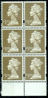 Great Britain Sg-Y1803, Scott # Mh-283 Blk/6, Mint, Og, Nh, Read, Great Price!
