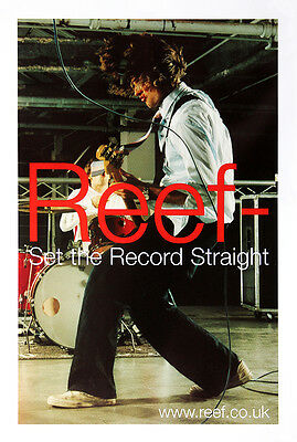 Original Reef poster - Set the record straight