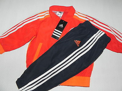 Adidas Jogging Tracksuit IJ 3SWV Suit for kids Red/Grey new
