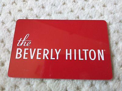 THE BEVERLY HILTON room key card, los angeles beverly hills california