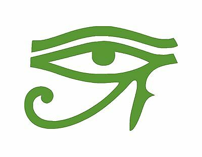 "Eye Of Horus Symbol Window Decal 4"" X 2.75"" Wadjet Healing Protection Pagan"