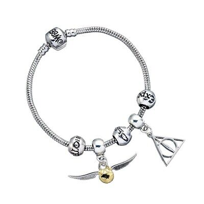Harry Potter : Charm Bracelet & Slider Set from The Carat Shop