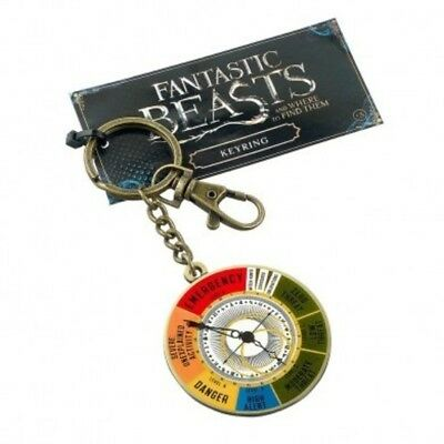 FANTASTIC BEASTS & Where to Find Them : Magical Exposure Threat Level Keyring