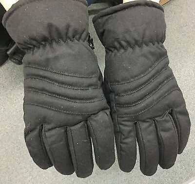 Jacaru Oilskin Waxy Cotton Gloves Man's Size Small Brown Winter