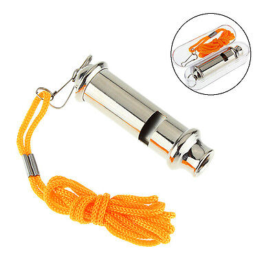 Emergency Metal Whistle For Police Traffic Warning Portable Whistle Security