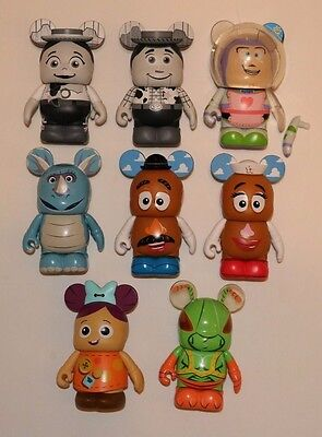Toy Story Series 2 Vinylmation - Set of 8 w/ Twitch Chaser