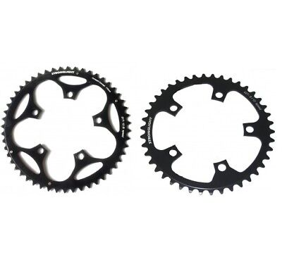 STRONGLIGHT DURAL 5083 BLACK 110BCD mm SHIMANO COMPACT CHAINRING   39T