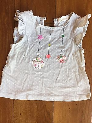 Country Road girls tshirt size 3-6 months
