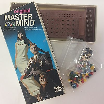 Original Master Mind Game 1972 Edition Parker Brothers Invicta No Instructions