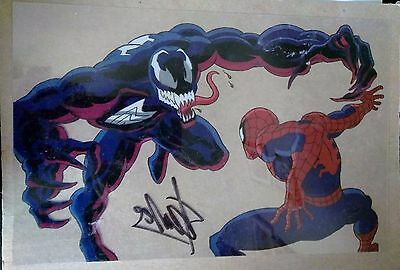 Stan Lee Signed Autograph Marvel Spiderman Cell