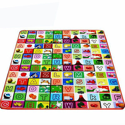 Baby Play Mat Foam Floor Child Activity Soft Toy Gym Crawl Creeping Blanket