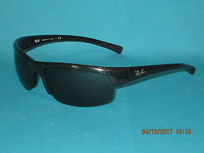 ed84171a22 RAY BAN RB4039 601 71 Black Gray Green Sunglasses 65mm Repair or Parts