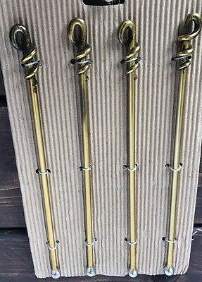 New Queenwest Stainless Steel Brass Cocktail Stirrer Bar Metal Bar Mixing